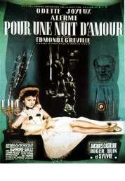 Affiche du film Pour une nuit d'amour