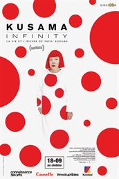 Affiche du film Kusama : Infinity - La vie et l'oeuvre de Yayoi Kusama