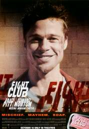 L'affiche du film Fight club