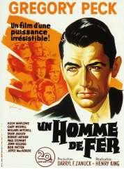 Affiche du film Un homme de fer
