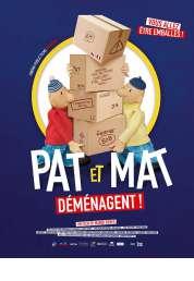L'affiche du film Pat et Mat déménagent !