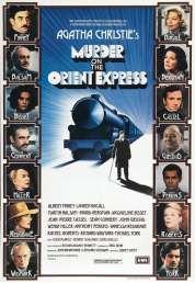 L'affiche du film Le crime de l'Orient Express