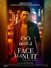 L'affiche du film Face à la nuit