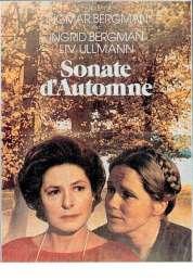 L'affiche du film Sonate d'automne