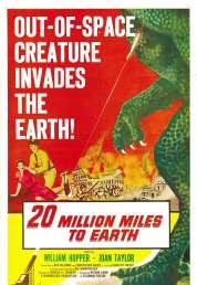 Affiche du film A des Millions de Kilometres de la Te