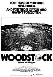 L'affiche du film Woodstock