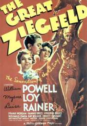 Affiche du film Le Grand Ziegfeld
