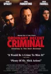 Affiche du film Ordinary decent criminal