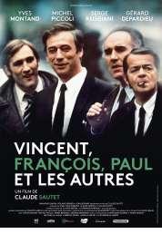 L'affiche du film Vincent, François, Paul et les autres