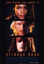L'affiche du film Strange days