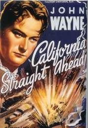 Affiche du film California Straight Ahead