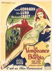 Affiche du film La Vengeance des Borgia