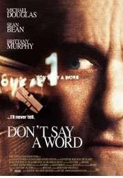 Affiche du film Pas un mot