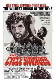 Affiche du film Les motos sauvages