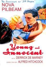 L'affiche du film Jeune et innocent