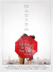 L'affiche du film Un jour de pluie à New York