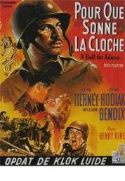 Affiche du film Pour Qui Sonne la Cloche