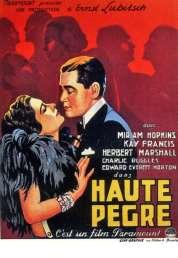 L'affiche du film Haute pègre