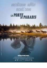 L'affiche du film La porte du paradis