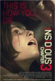 Affiche du film Insidious : Chapitre 3