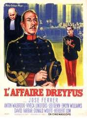 Affiche du film L'affaire Dreyfus