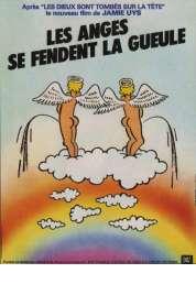 Affiche du film Les Anges se Fendent la Gueule
