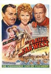Affiche du film Le Traitre du Far West
