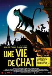 L'affiche du film Une vie de chat