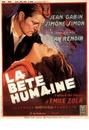 Affiche du film La bête humaine