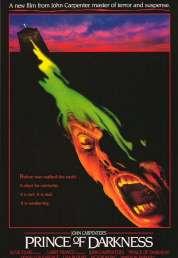 L'affiche du film Prince des ténèbres