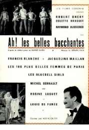Affiche du film Ah les belles bacchantes !