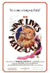 Affiche du film Les Neuf Vies de Fritz le Chat