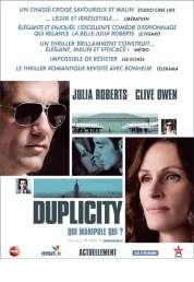 Affiche du film Duplicity