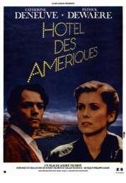 L'affiche du film Hôtel des Amériques