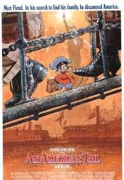 L'affiche du film Fievel et le Nouveau Monde