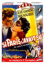 L'affiche du film Si Paris l'avait Su