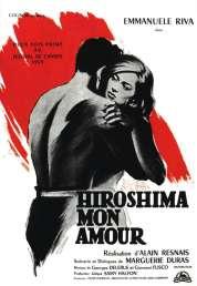 L'affiche du film Hiroshima mon amour