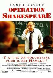 Affiche du film Operation shakespeare