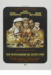 Affiche du film Les Aventuriers du Lucky Lady