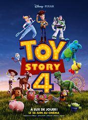 L'affiche du film Toy Story 4