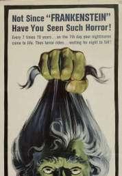 L'affiche du film Les trois visages de la peur