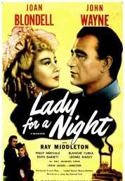Affiche du film Lady For a Night