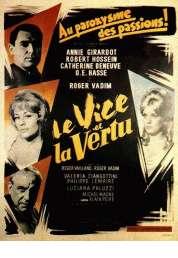 Affiche du film Le vice et la vertu