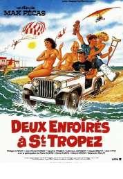 Affiche du film Deux Enfoires a Saint Tropez