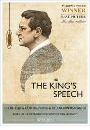 L'affiche du film Le Discours d'un roi