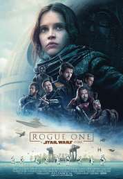L'affiche du film Rogue One: A Star Wars Story