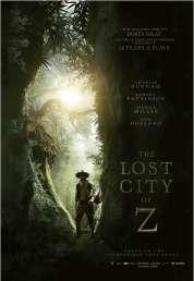 L'affiche du film Lost City of Z - La Cité perdue de Z