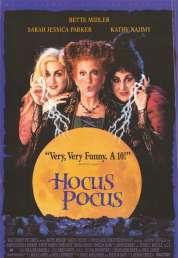 Affiche du film Hocus Pocus, les trois sorcières