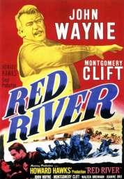 L'affiche du film La rivière rouge