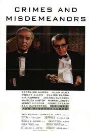 L'affiche du film Crimes et délits